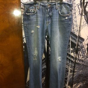 Lucky Brand Men's Distressed Jeans